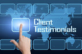 Client Testimonials — Stock Photo