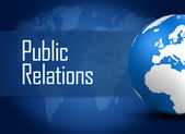 Public Relations — Stock Photo