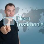 Client Testimonials — Stock Photo #37470417