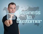 顧客へのビジネス — ストック写真