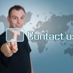 Contact us — Stock Photo #38127017