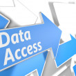 Data Access — Stock Photo #38682131