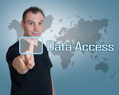 Data Access — Foto Stock
