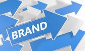 Brand — Stock fotografie