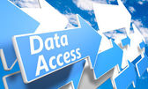 Accesso ai dati — Foto Stock