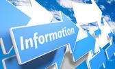 Information — Stock fotografie