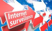 Internet surveillance — Stock Photo