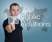 公共关系 — 图库照片