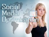 Social Media Optimization — Stock Photo