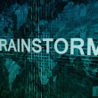 Stock Photo: Brainstorm
