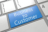 Business to Customer — Stock Photo