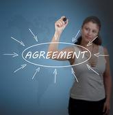 Agreement — Stock Photo
