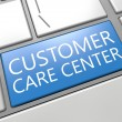 Stock Photo: Customer Care Center