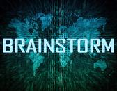 Brainstorm — Stockfoto