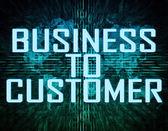 Business to Customer — Stock Photo