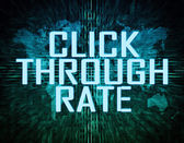 Click Through Rate — Stock Photo