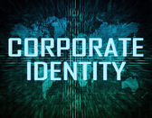 Corporate Identity — Stock Photo