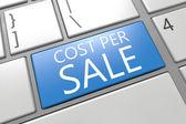 Cost per Sale — Stock Photo