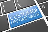 Customer Lifetime Value — Стоковое фото