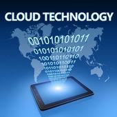 Cloud-technologie — Stockfoto