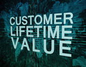 Customer Lifetime Value — Stock Photo