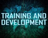 Utbildning och utveckling — Stockfoto