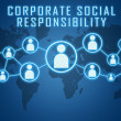 Corporate Social Responsibility — Stock Photo #44119981
