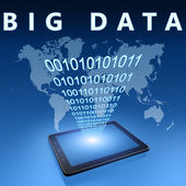 Big Data — Stock Photo
