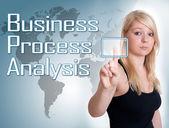 Análisis de procesos de negocio — Foto de Stock
