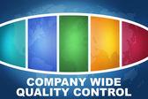 Compañía de control de calidad amplia — Foto de Stock