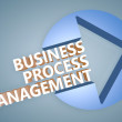 Business Process Management — Stock Photo