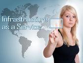Infrastruktura jako usługa — Zdjęcie stockowe