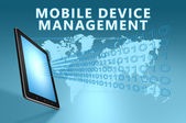 Mobile Device Management — Stock Photo