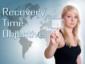 Objetivo de tiempo de recuperación — Foto de Stock