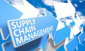 Gerenciamento de supply chain — Foto Stock