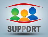Поддержка — Стоковое фото