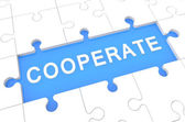 Cooperate — Stock Photo
