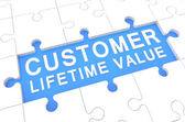 Customer-lifetime-wert — Stockfoto