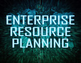 Enterprise Resource Planning — Stockfoto