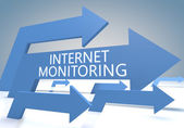 Internet Monitoring — Stock Photo