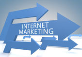 Internet Marketing — Stockfoto