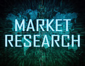Market Research — Stock Photo