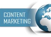 Treści marketingowych — Zdjęcie stockowe