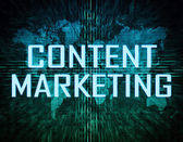 Content Marketing — Стоковое фото
