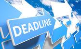 Deadline — Foto Stock