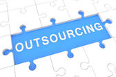 Outsourcing — Stockfoto