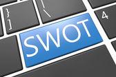 Swot-konzept — Stockfoto