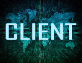 Client — Stockfoto