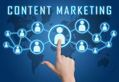 Content Marketing — Foto de Stock