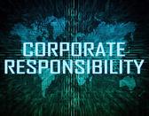 Corporate Responibility — Stock Photo